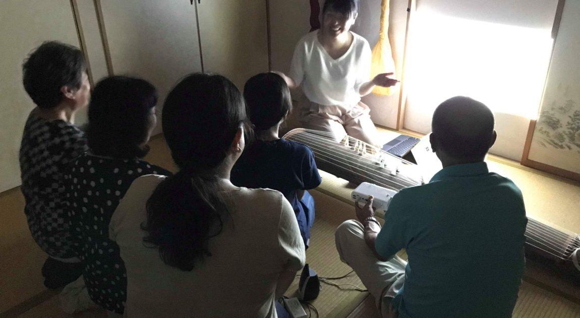 箏回想法 デモンストレーション 箏回想士 渡部佳奈子