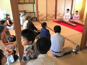 福島県迎賓館箏を演奏する佳寿美会