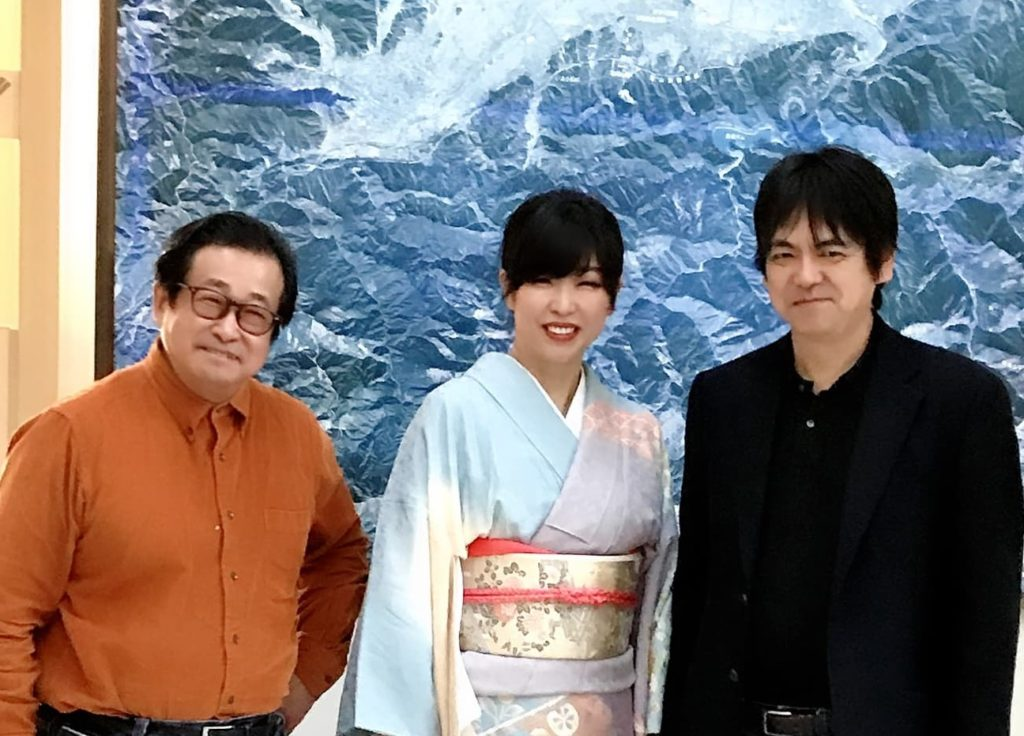 石川先生川上先生と渡部佳奈子