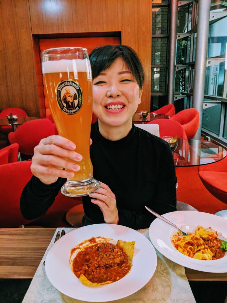 箏回想士渡部佳奈子 ドイツビール