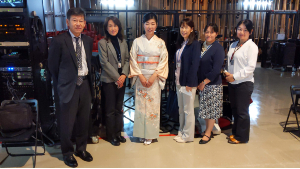 箏回想士渡部佳奈子と三島市健康推進部の皆さん